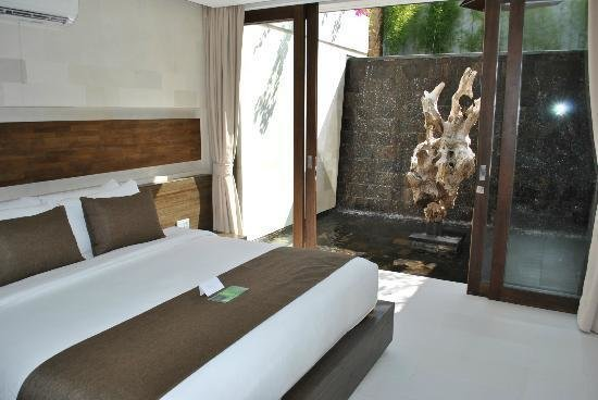 Best Waterfall In Bedroom Picture Of Equilibria Seminyak With Pictures