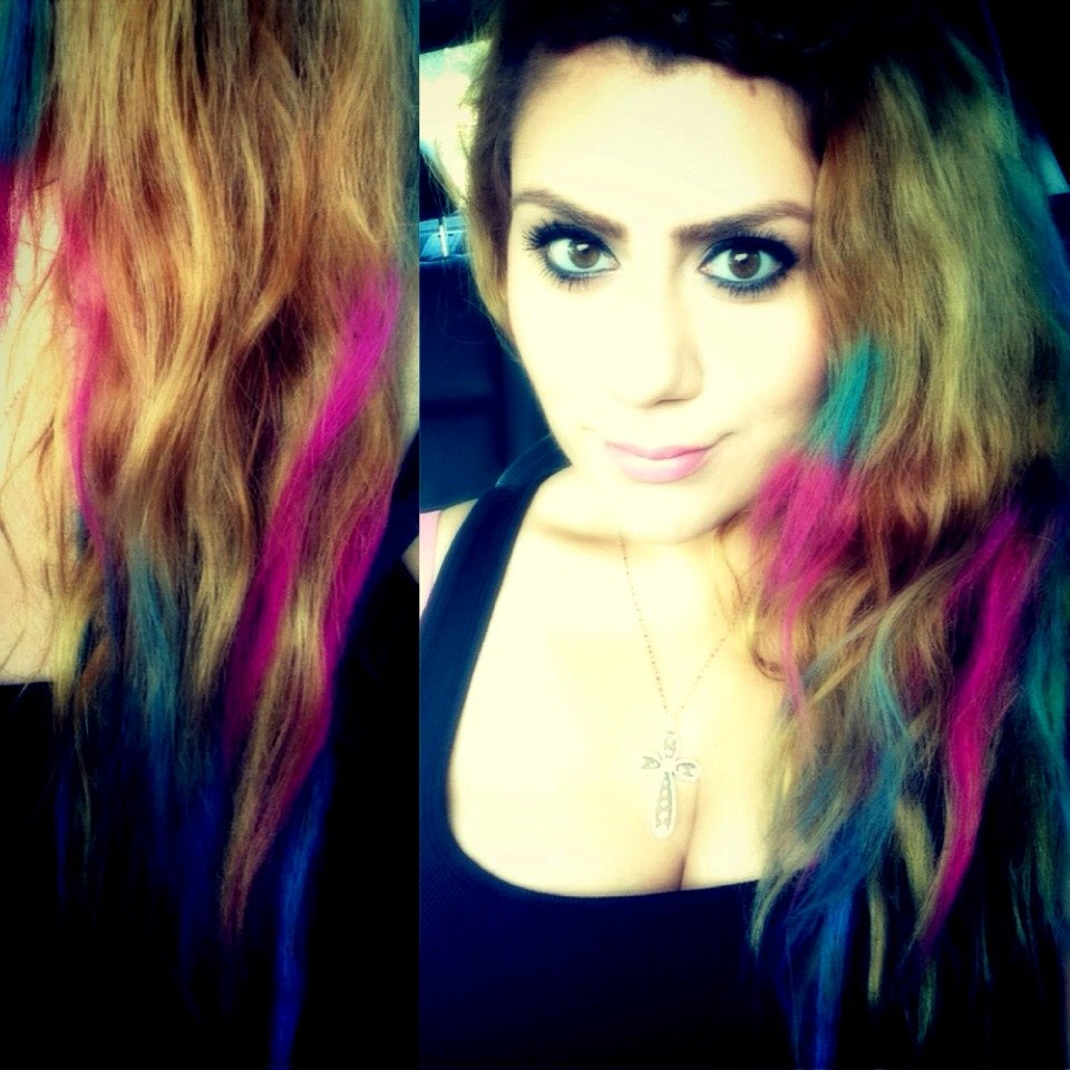 Free How To Get Colorful Hair Without Dying It Permanently Wallpaper