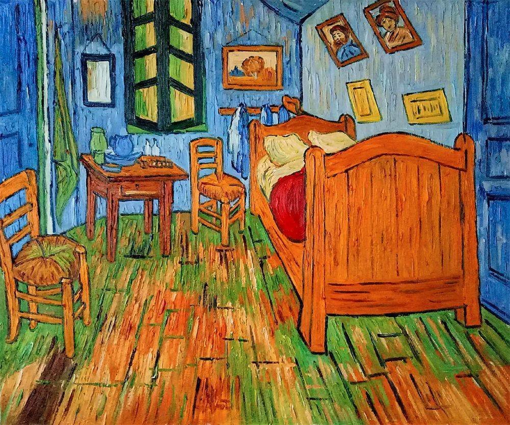 Best Bedroom At Arles Vincent Van Gogh Reproduction With Pictures
