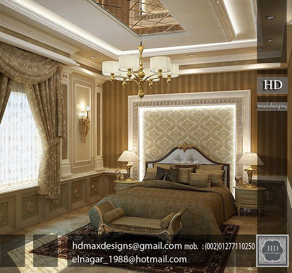 Best Classic Master Bedroom On Behance With Pictures