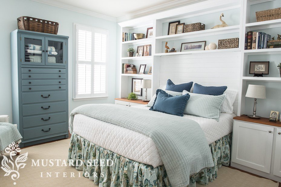 Best Kim S Coastal Bedroom Makeover The Reveal Miss Mustard With Pictures