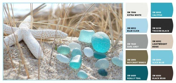 Best Coastal Color Inspiration Sea Glass Mjn And Associates With Pictures