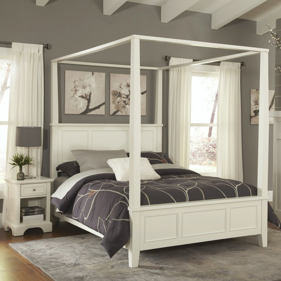 Best Home Styles Naples White Queen Bedroom Set At Lowes Com With Pictures