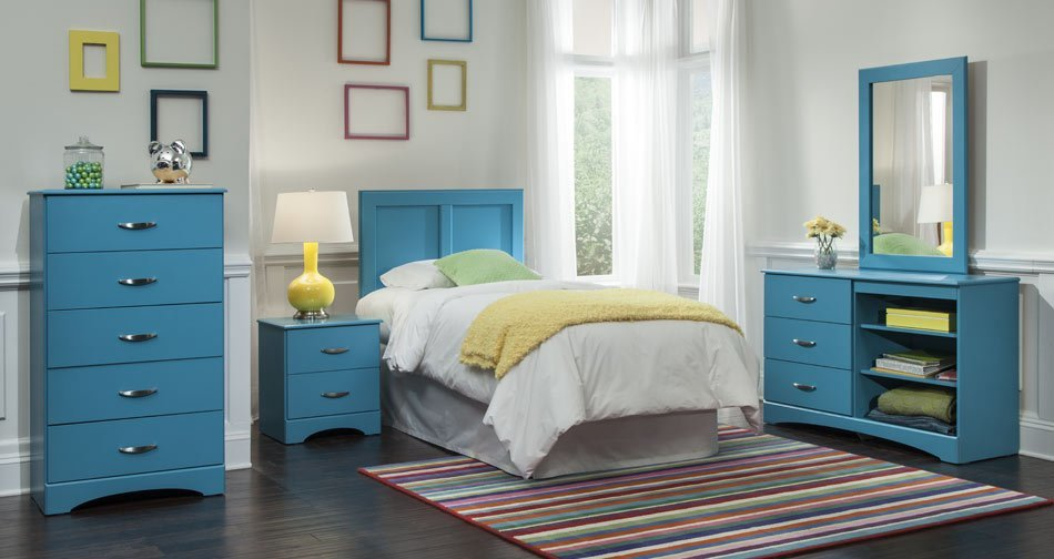 Best Children S Bedroom Set Blue Union Furniture Company With Pictures