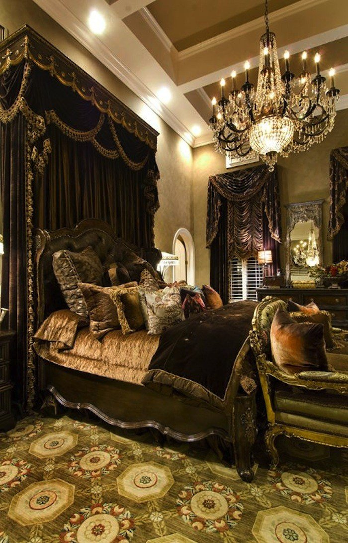 Best Inviting Old World Style Bedrooms Artisan Crafted Iron With Pictures