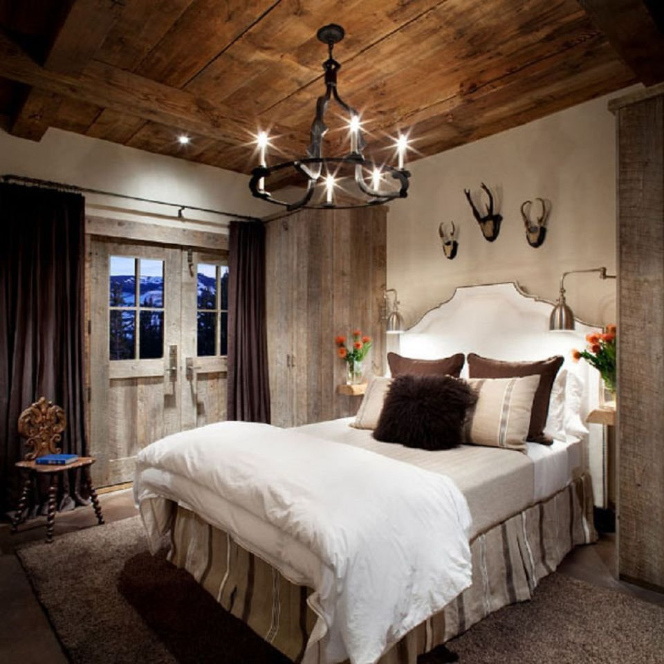 Best Modern Rustic Bedroom Decorating Ideas And Photos With Pictures