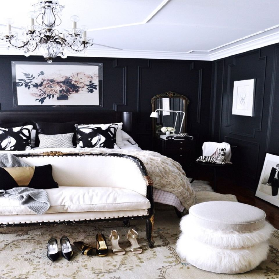 Best Decorating Ideas For Dark Colored Bedroom Walls With Pictures