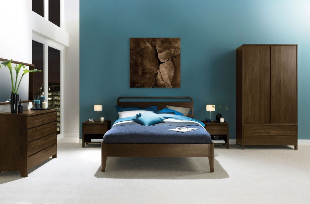 Best Capri Walnut Bedroom Furniture Furniture Sale Direct With Pictures