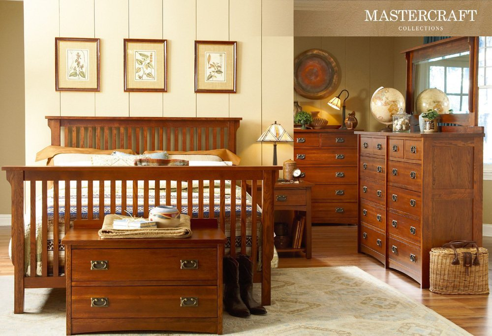 Best Mission Style Slat Bedroom Collection Bedroom Furniture With Pictures