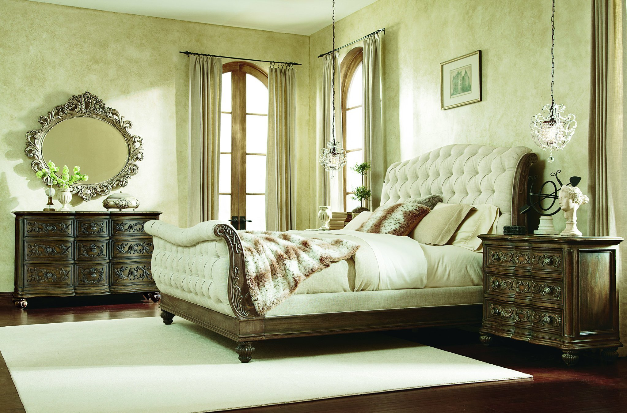 Best The Jessica Mcclintock Boutique Sleigh Bedroom Collection With Pictures