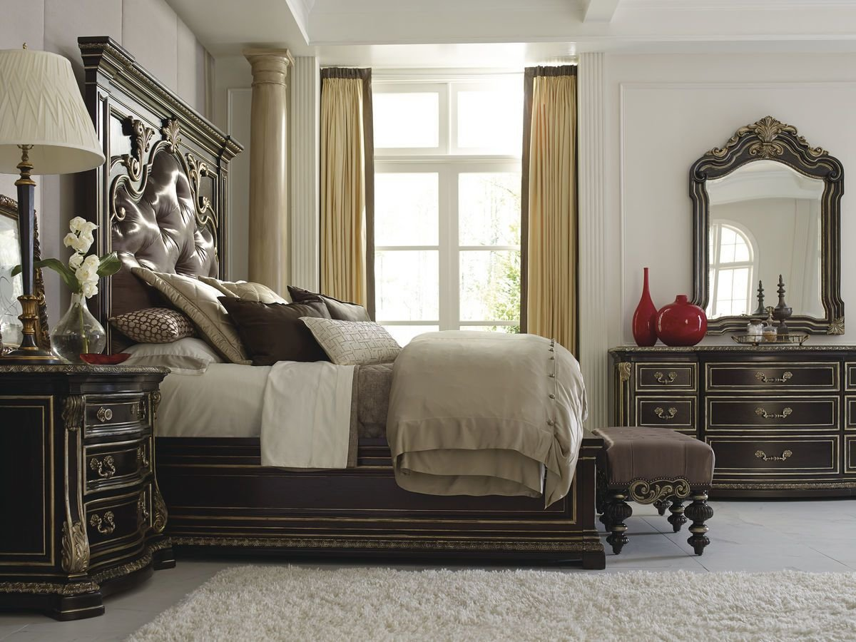 Best The Mezzanotte Upholstered Bedroom Collection With Pictures