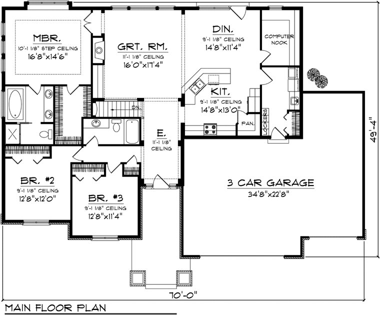 Best Floor Plans Ranch Homes Bedrooms Quotes House Plans 85847 With Pictures