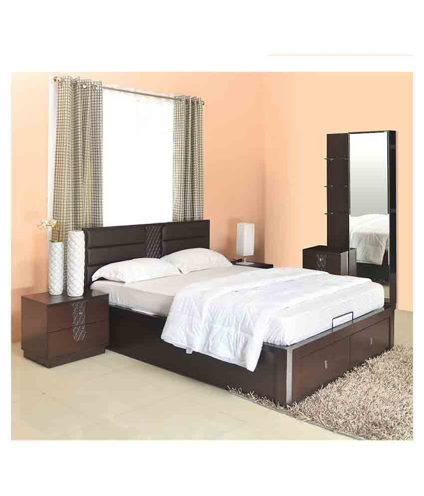 Best Home By Nilkamal Triumph Storage Queen Size Bedroom Set With Pictures