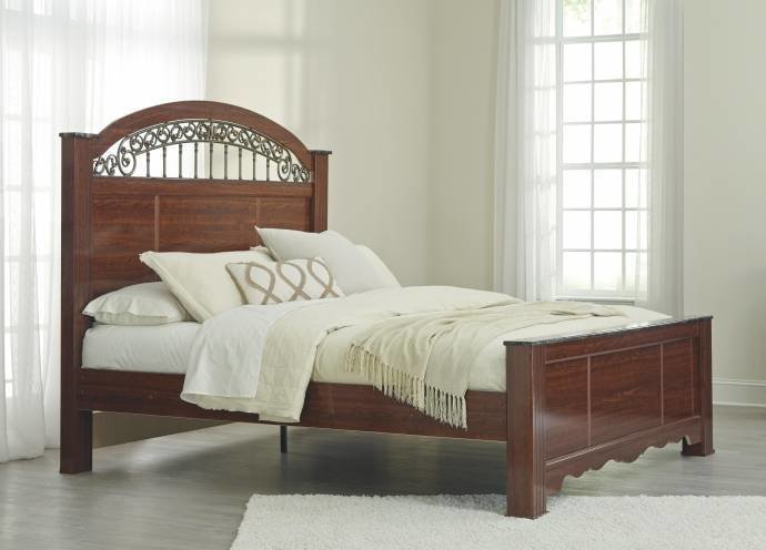 Best Ashley Fairbrooks Estate B105 Queen Size Panel Bedroom Set With Pictures