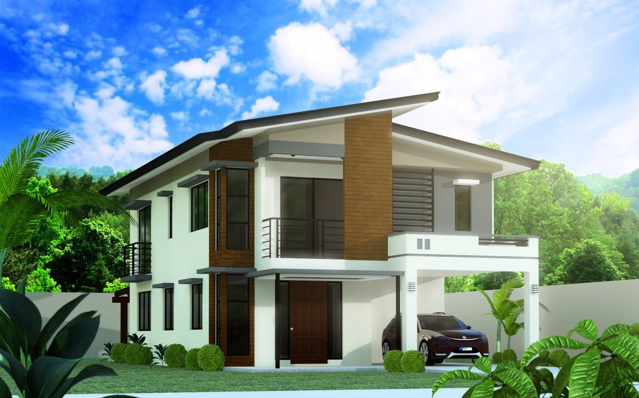 Best Model 5 4 Bedroom 2 Story House Design Negros Construction Building Better Homes With Pictures
