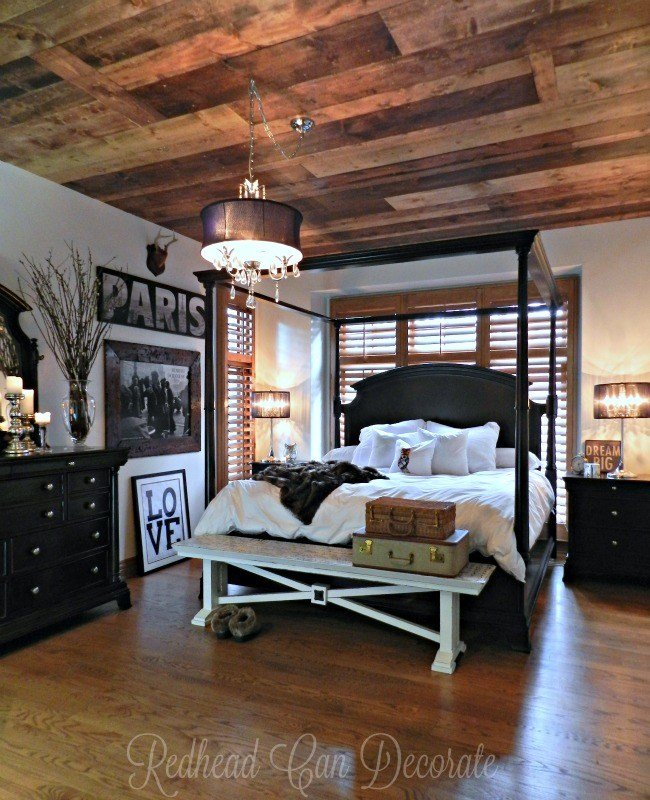 Best Diy Wood Planked Ceiling Redhead Can Decorate With Pictures