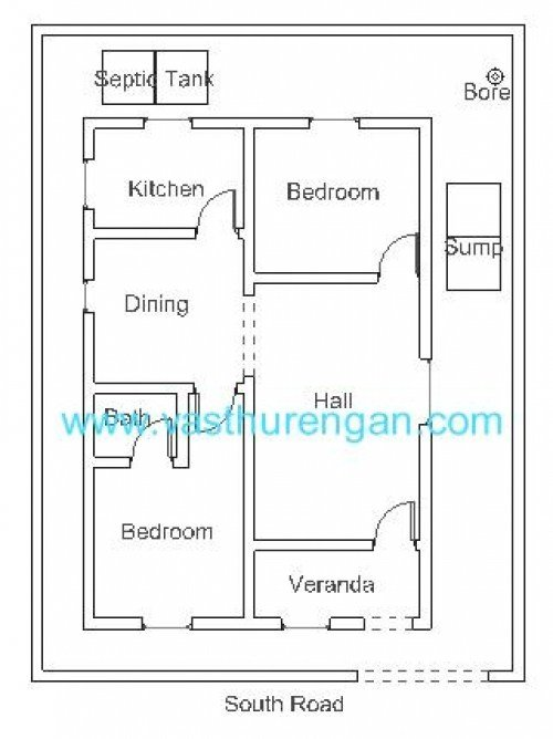 Best Vastu Plan For South Facing Plot 2 Vasthurengan Com With Pictures
