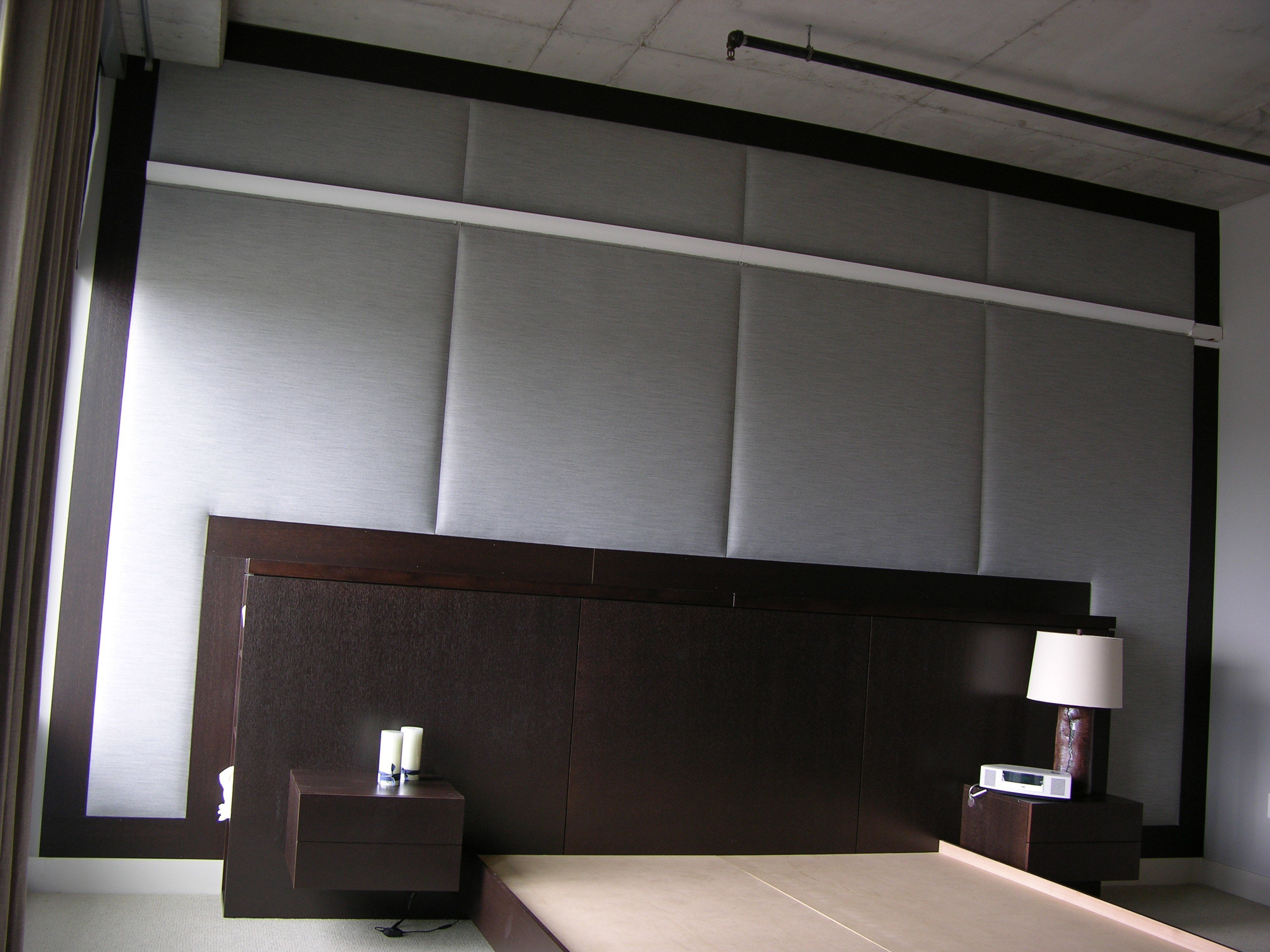 Best Upholstered Walls Fabric Wall Upholstery With Pictures