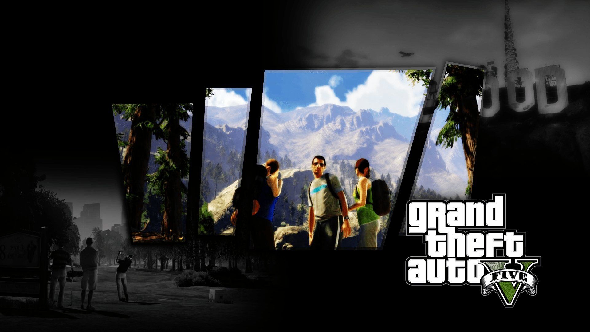 Best A Mix Of Gta Grand Theft Auto Wallpapers C Town Gaming With Pictures
