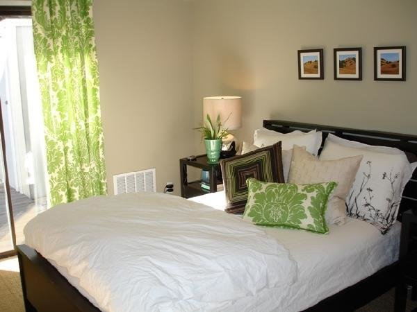 Best Damask Drapes Transitional Bedroom Apartment Therapy With Pictures