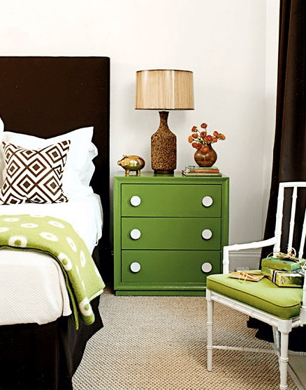 Best Brown And Green Bedroom Contemporary Bedroom My Home Ideas With Pictures