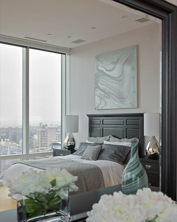 Best Purple Gray Paint Color Contemporary Bedroom With Pictures