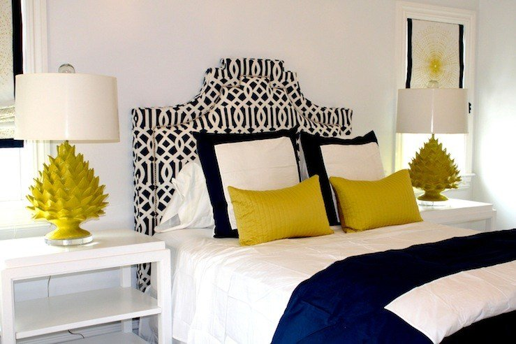 Best Blue And Yellow Bedroom Contemporary Bedroom Porter With Pictures