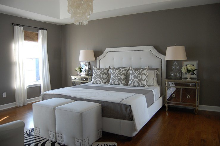 Best Gray Bedroom Contemporary Bedroom Benjamin Moore With Pictures
