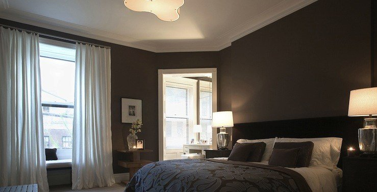 Best Dark Brown Bedroom Transitional Bedroom Rees Roberts With Pictures