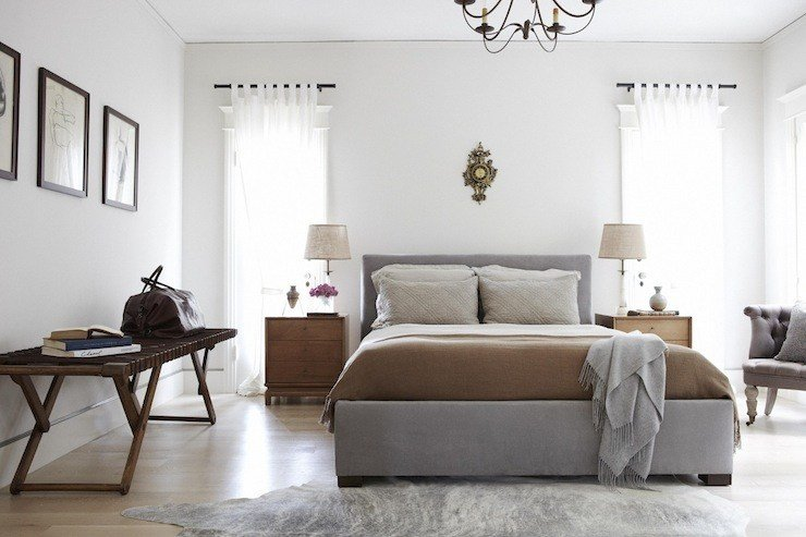 Best Gray And Brown Bedroom Contemporary Bedroom Simo Design With Pictures