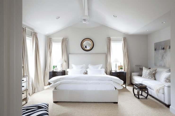 Best Vaulted Ceiling Bedroom Transitional Bedroom Ashley Goforth Design With Pictures