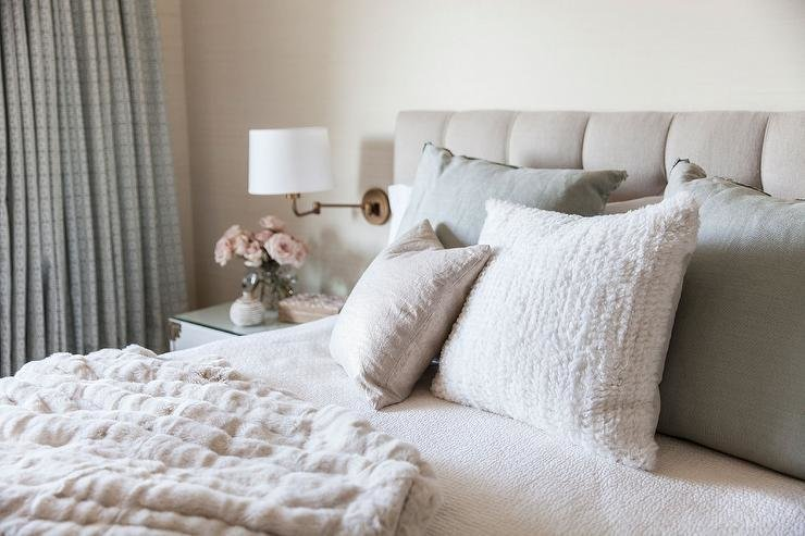 Best Beige Tufted Headboard Design Ideas With Pictures