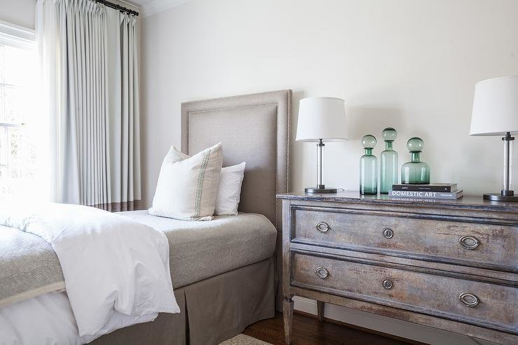 Best Taupe And Gray Bedroom With Bernhardt Cabrillo Nailhead With Pictures