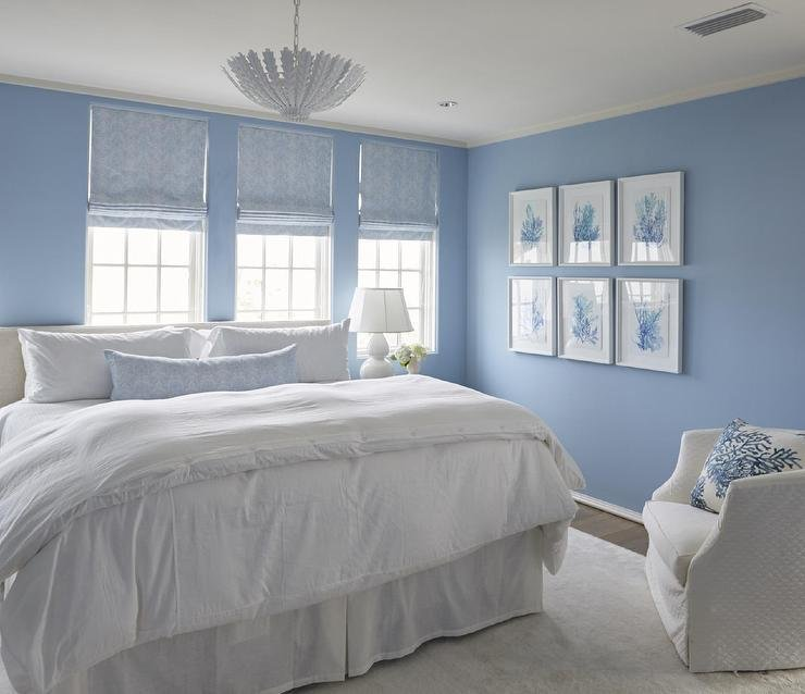 Best Blue Bedroom With Blue Coral Art Gallery Wall Cottage Bedroom With Pictures
