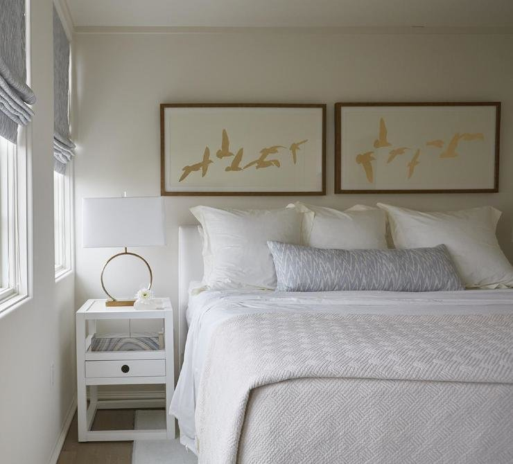 Best White Nightstand With Gold Ring Pulls Design Ideas With Pictures