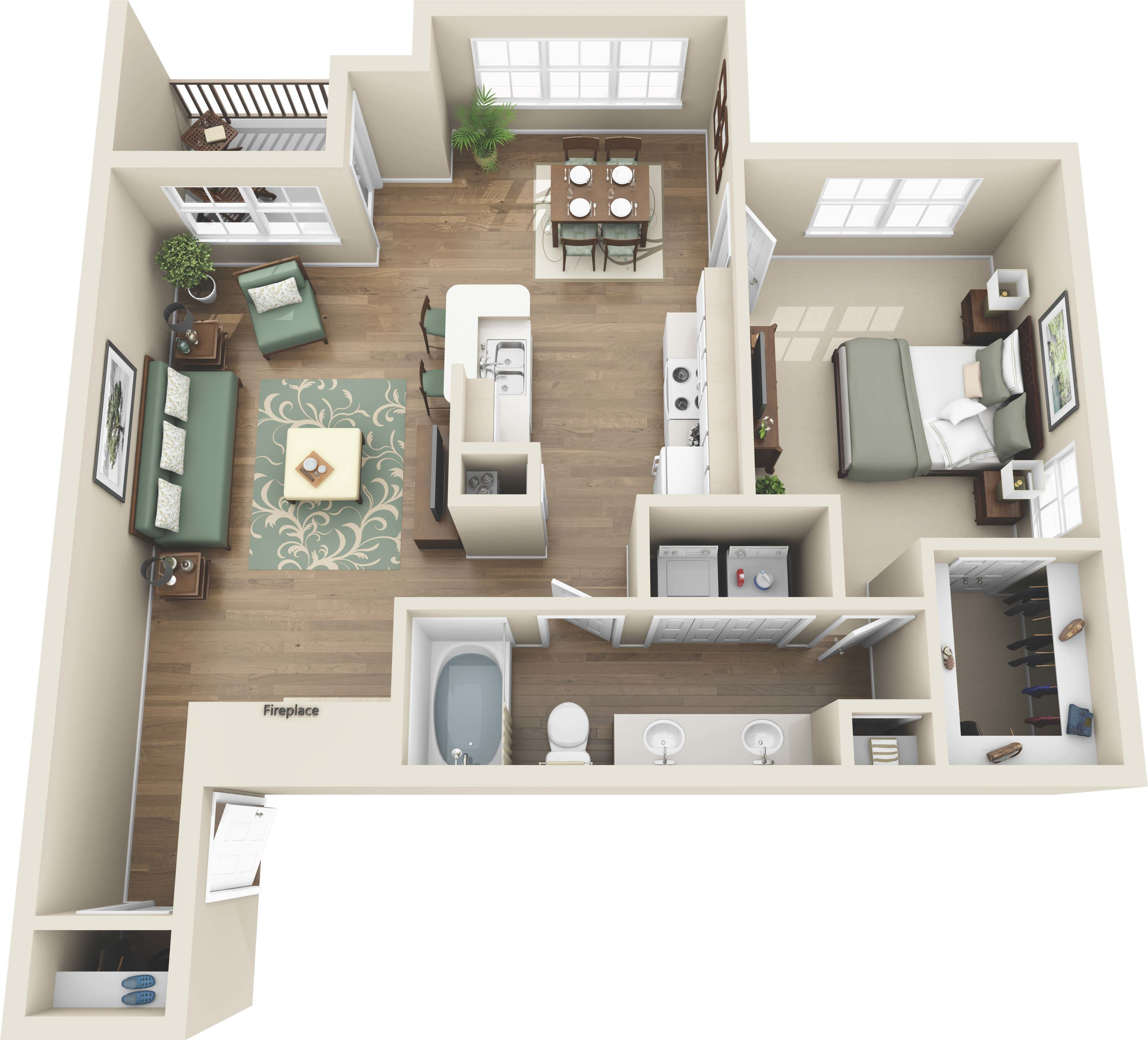 Best Luxury 1 And 2 Bedroom Colorado Springs Co Apartments With Pictures