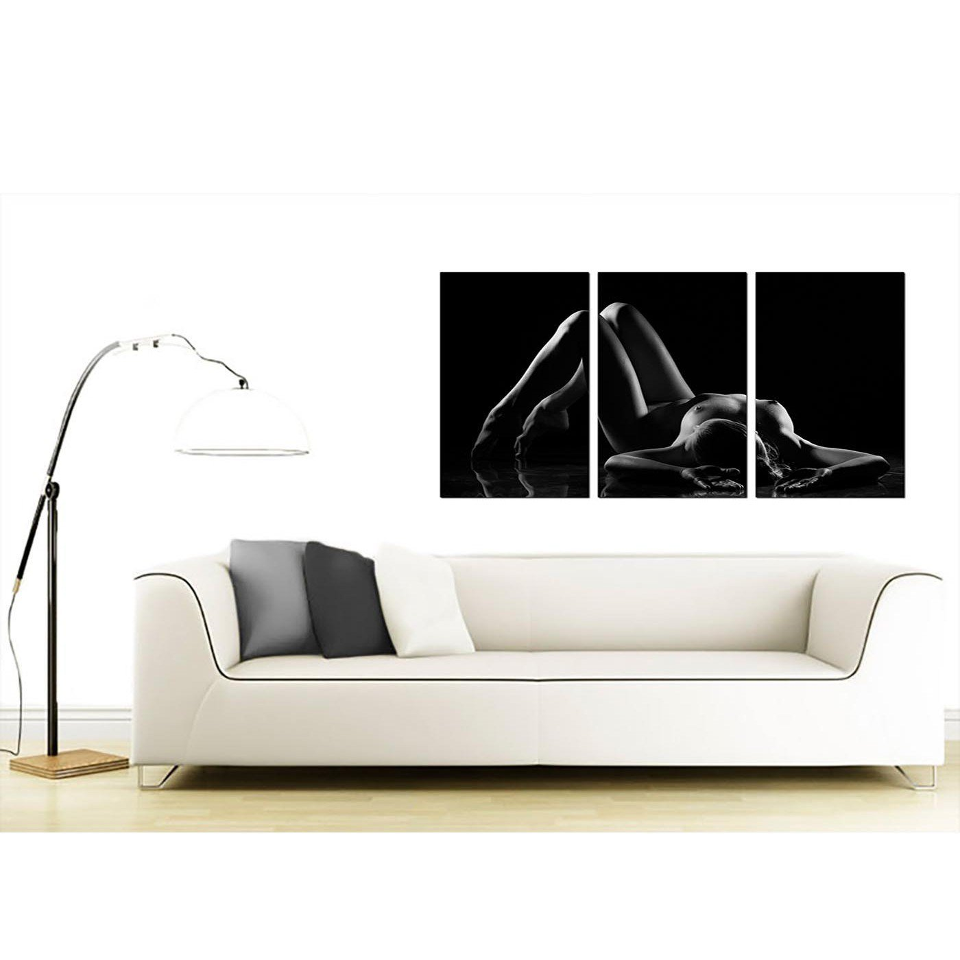 Best Sensual Woman Canvas Wall Art Set Of Three For Your Bedroom With Pictures