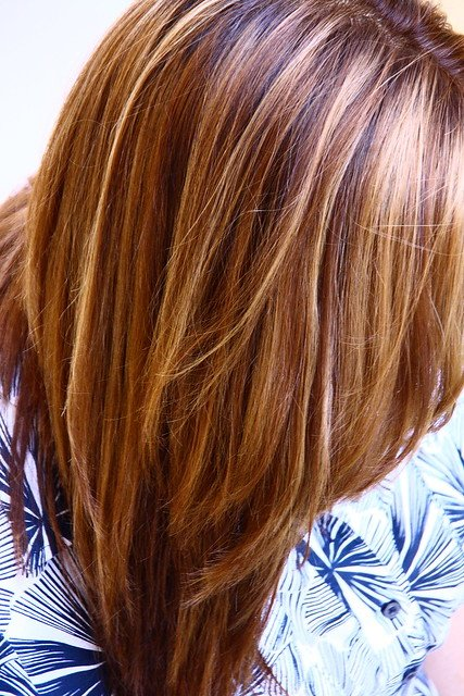 Free Warm Brown With Blonde And Honey Highlights Original Wallpaper