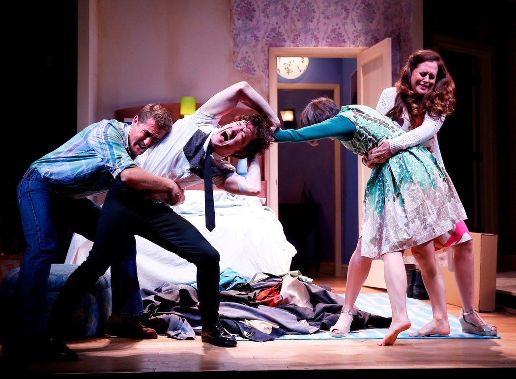 Best Review In 'Bedroom Farce ' Love And Other Jokes The New With Pictures