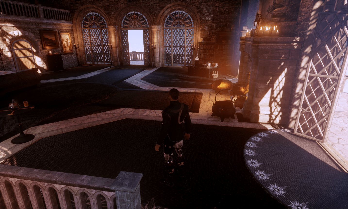 Best Black And White Skyhold Bedroom At Dragon Age Inquisition With Pictures