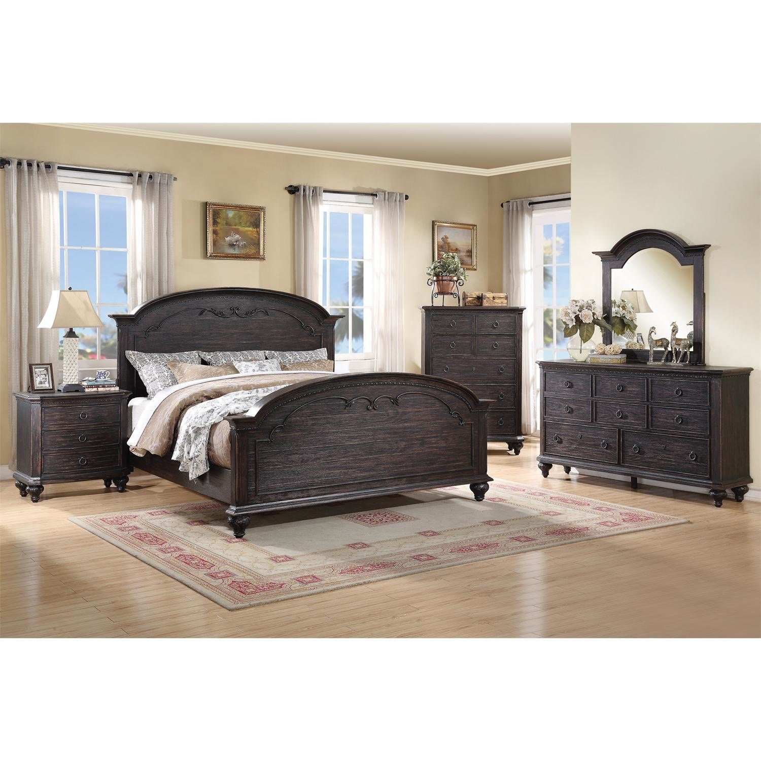 Best Riverside Furniture Bellagio Panel Customizable Bedroom With Pictures