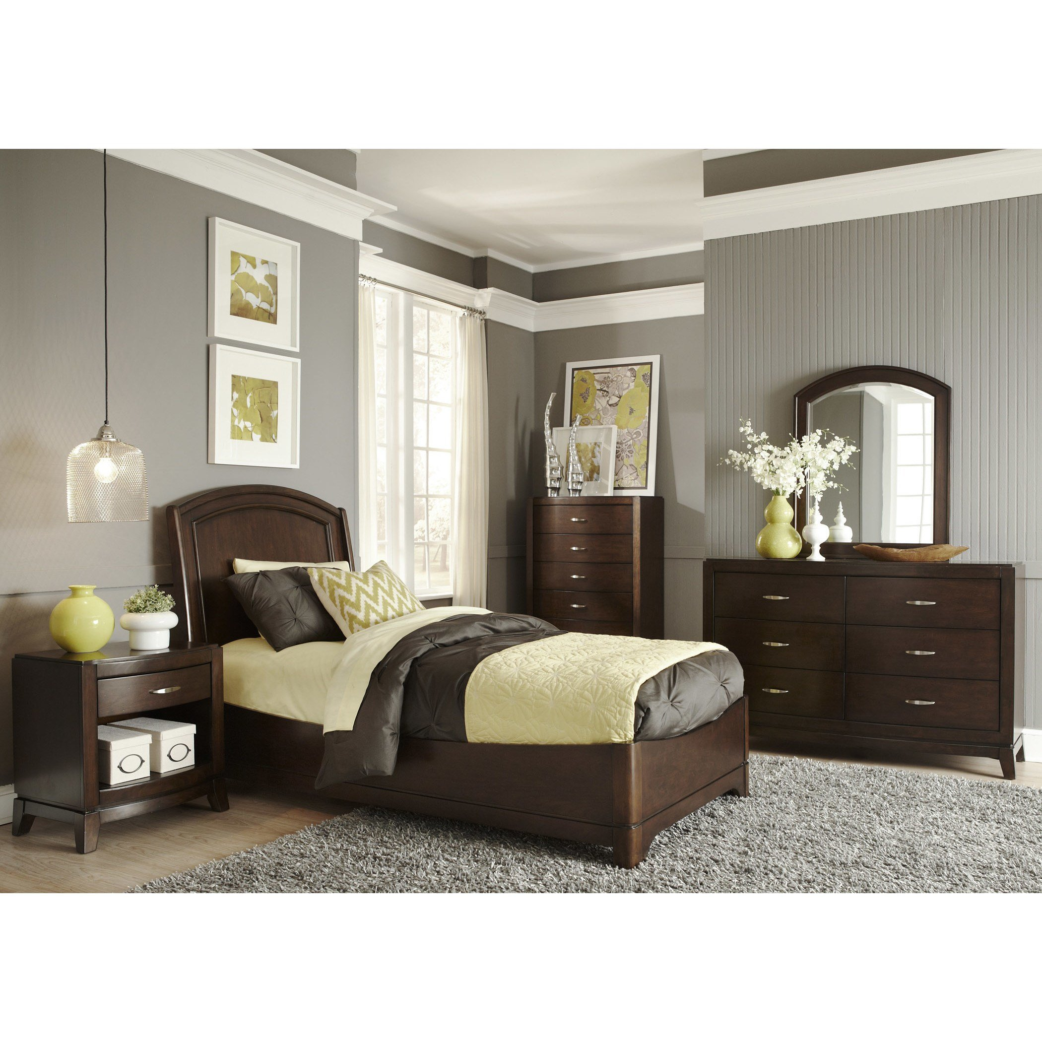 Best Liberty Furniture Platform Customizable Bedroom Set With Pictures