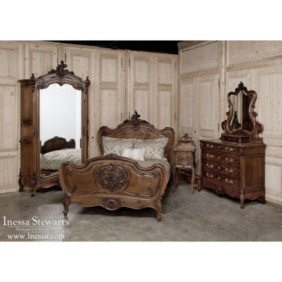Best Antique Bedroom Furniture 19Th Century French Rococo Louis Xv Style Bedroom Set Www Inessa With Pictures