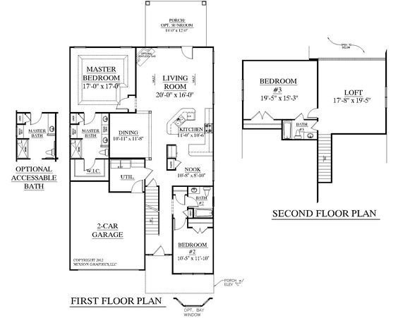 Best House Plan 2545 Englewood Floor Plan Traditional 1 1 2 With Pictures