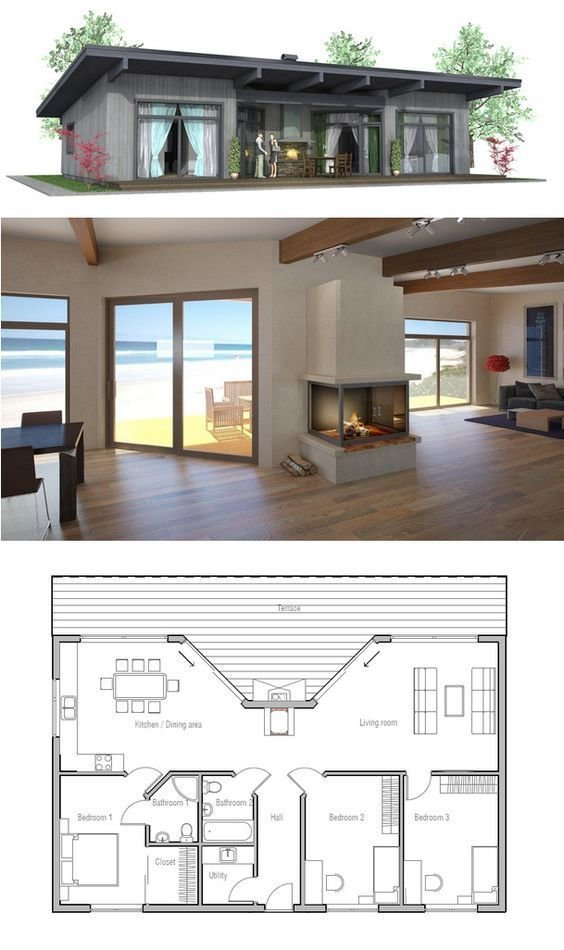 Best 1000 Ideas About 2 Bedroom House Plans On Pinterest House Plans Floor Plans And Bedroom With Pictures