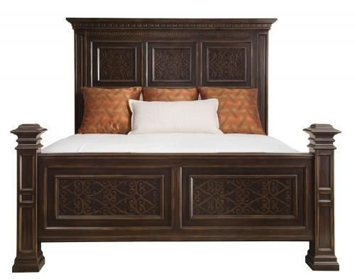 Best Pacific Canyon Panel Bed And Nightstands Bernhardt With Pictures