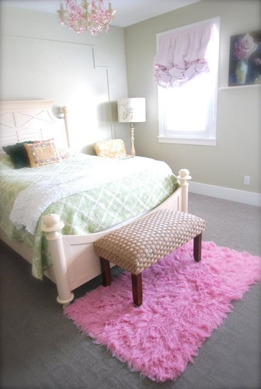 Best Flokati Rug Girls Bedroom Pink And Girls Bedroom On Pinterest With Pictures
