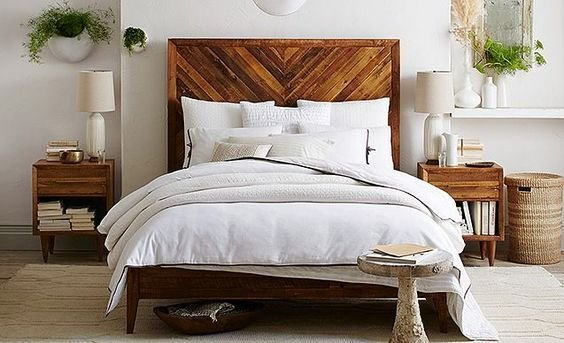 Best West Elm Back To Nature Bedroom Love The Bed And Plant With Pictures