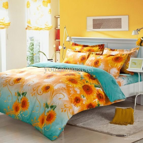 Best Sunflowers Luxury Bedding And Bedding On Pinterest With Pictures