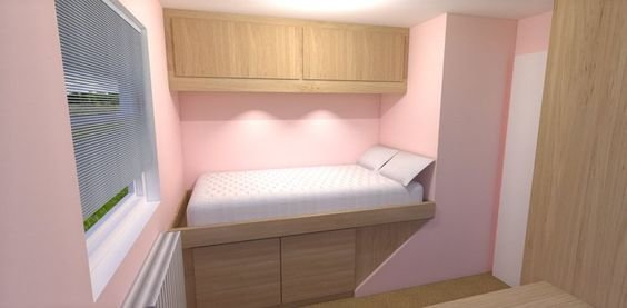 Best Box Bedroom Storage Over Stairs Like The Idea Of More Storage Above Bed Decor S A Bit Wack With Pictures